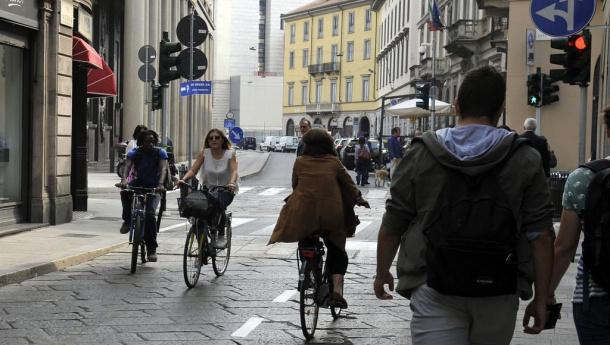 Immagine: Nuovo codice della strada: arriva il senso unico eccetto bici
