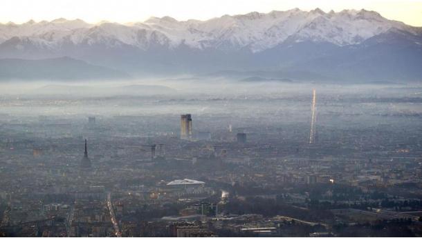 Immagine: Smog, a Torino già superato il limite annuale di Pm10