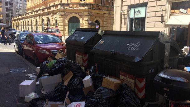 Immagine: Rifiuti di Roma, Raimo: 'E' una questione politica non tecnica'