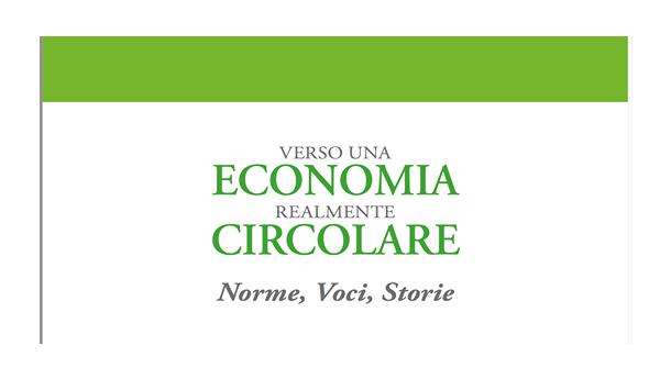 Immagine: 'Verso un'economia circolare', il volume di Comuni Virtuosi ed Esper presentato in Anci