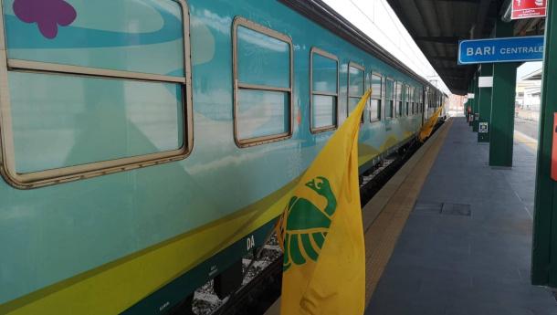 Immagine: Il Treno Verde a Bari
