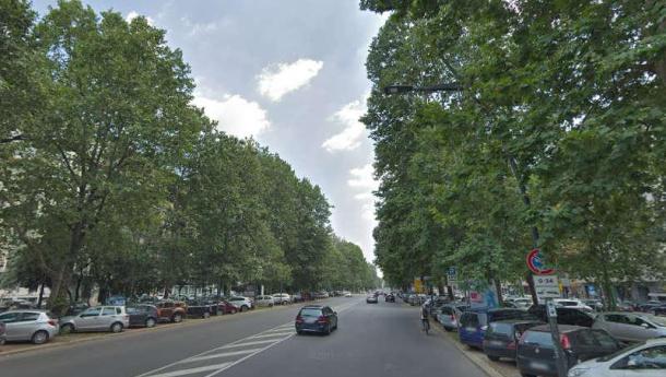 Immagine: Milano, nuova vita per corso Sempione: più verde e più spazio per bici e pedoni