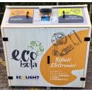 Immagine: Le EcoIsole a Milano raddoppiano. Posizionati quattro nuovi cassonetti intelligenti per la raccolta di piccoli rifiuti elettronici e lampadine
