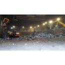 Immagine: Tmb Salario, Ama: 'Rimozione dei rifiuti all'esterno conclusa in settimana'