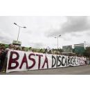 Immagine: 'Stop ai rifiuti di Roma in provincia', la protesta dei sindaci